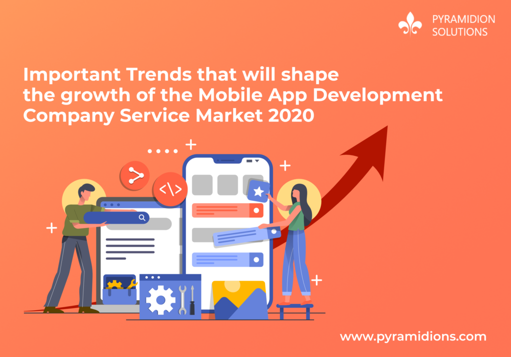 Important Trends that will shape the growth of the mobile app development company Service Market 2020