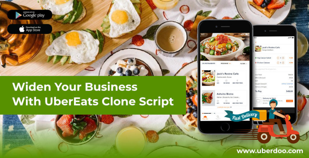 Widen Your Business With UberEats Clone Script