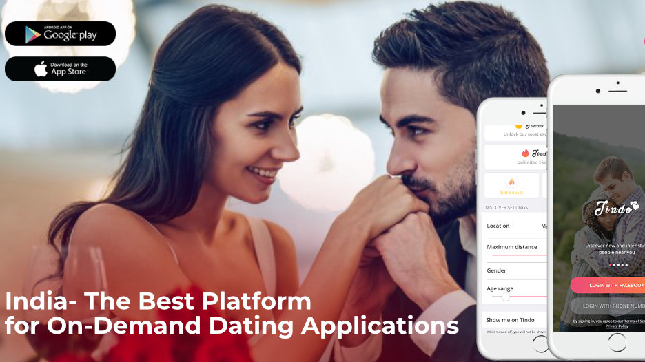 India- The Best Platform for On-Demand Dating Applications